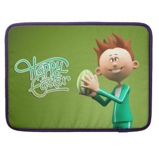 Joyeuses Pâques Toon Poches Pour Macbook Pro