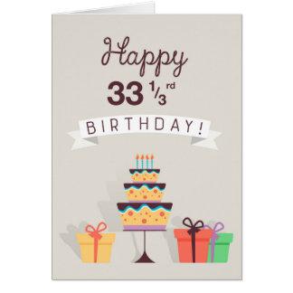 Joyeux anniversaire 1 cartes
