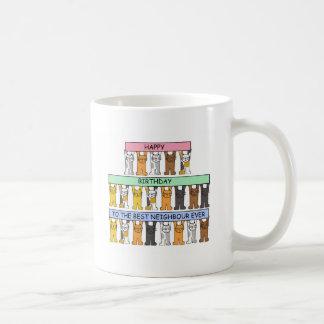 Joyeux anniversaire au meilleur voisin jamais mug
