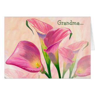 """""""Joyeux anniversaire, carte de grand-maman"""""""