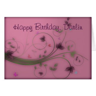 Joyeux anniversaire carte de vœux