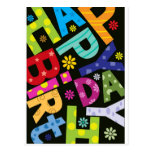 Joyeux anniversaire cartes postales