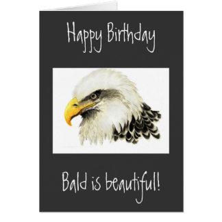 Joyeux anniversaire - chauve est beau ! cartes