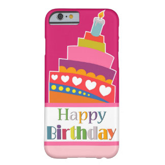 Joyeux anniversaire coque barely there iPhone 6