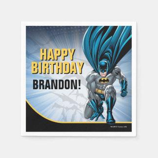 Joyeux anniversaire de Batman | Serviette Jetable