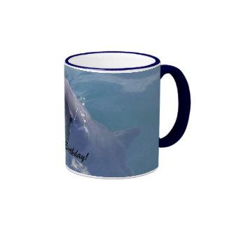 Joyeux anniversaire de sourire de dauphin ! mug