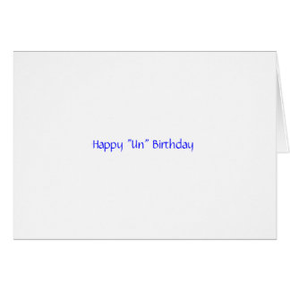 """Joyeux anniversaire du """"ONU"""" Carte De Vœux"""