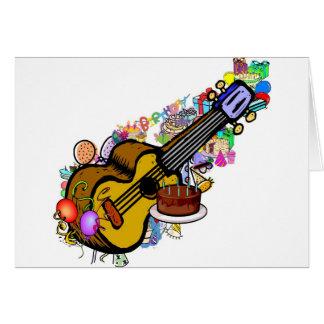 Joyeux anniversaire d'uke ! carte de vœux