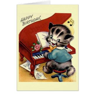 Joyeux anniversaire - enfants carte de vœux