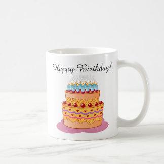 Joyeux anniversaire ! Gâteau d'anniversaire doux Mug