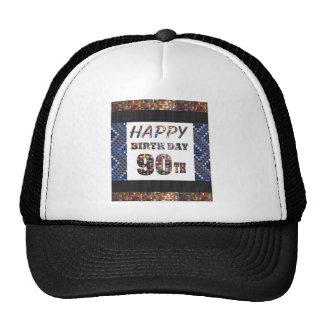 joyeux anniversaire happybirthday 90 casquettes de camionneur