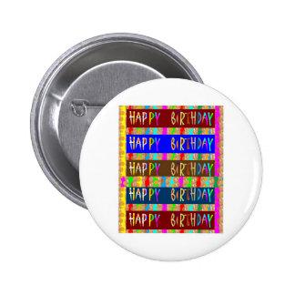 JOYEUX anniversaire HappyBirthday Manuscrit arti