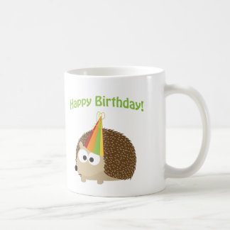 Joyeux anniversaire ! Hérisson Mug Blanc