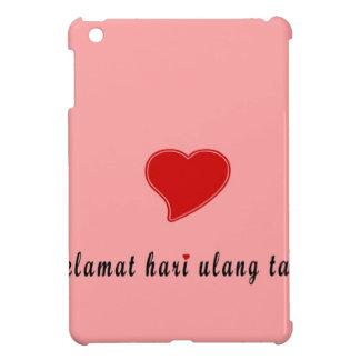 joyeux anniversaire Indonésie Coque Pour iPad Mini
