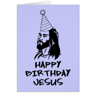 Joyeux anniversaire Jésus Cartes