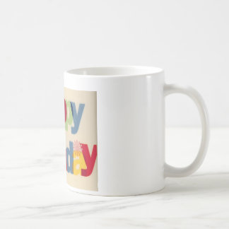 Joyeux anniversaire mug
