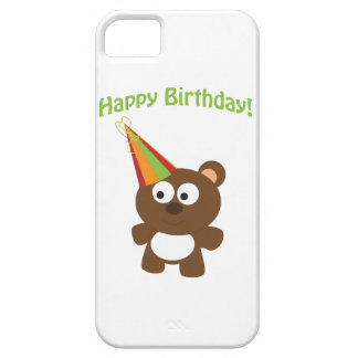 Joyeux anniversaire Ours Coque iPhone 5