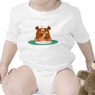 Joyeux anniversaire peu d ours t-shirts