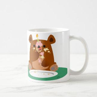 Joyeux anniversaire, peu d'ours ! ! mug blanc