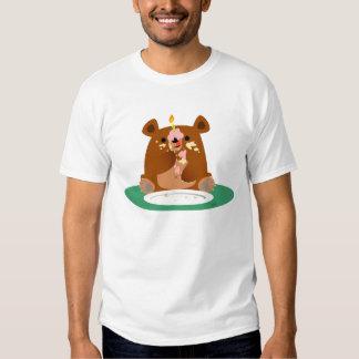 Joyeux anniversaire, peu d'ours ! ! t-shirt