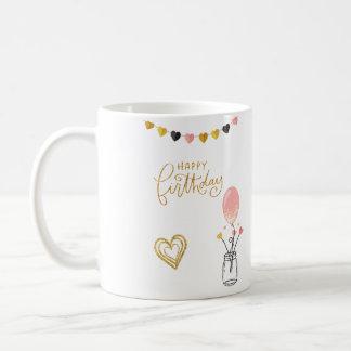 Joyeux anniversaire pour elle mug