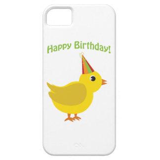Joyeux anniversaire poussin coque iPhone 5 Case-Mate