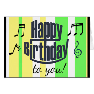 Joyeux anniversaire vert de chaux, anniversaire carte de vœux