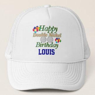 Joyeux cinquante-cinquième anniversaire casquette