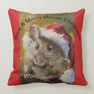 Joyeux coussin de souris
