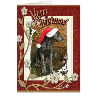 Joyeux Cristmas Carte De Vœux