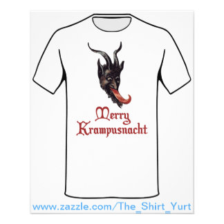 Joyeux Krampusnacht Prospectus 11,4 Cm X 14,2 Cm