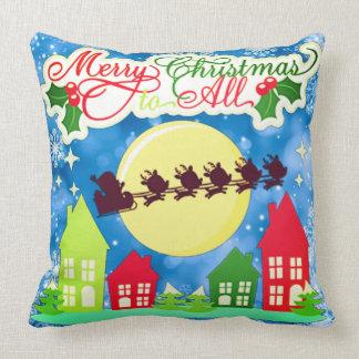 Joyeux Noël à tous Coussin