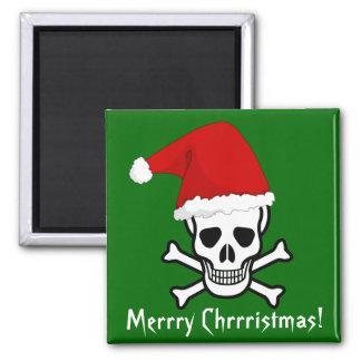 Joyeux Noël Arrrgh de salutation de pirate drôle d Aimant Pour Réfrigérateur