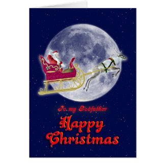 Joyeux Noël au parrain, Père Noël dans son