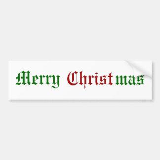 Joyeux Noël Autocollant Pour Voiture