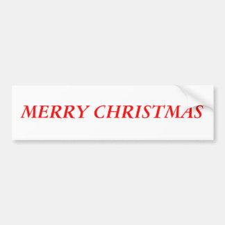 """""""Joyeux Noël """" Autocollant Pour Voiture"""