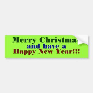 Joyeux Noël                                … Adhésifs Pour Voiture