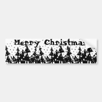 Joyeux Noël ! Autocollant Pour Voiture