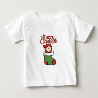Joyeux Noël - bébé dans le T-shirt de bas