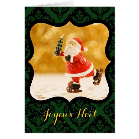 Joyeux Noel Cadre V decoratif Photo Carte de Voeux