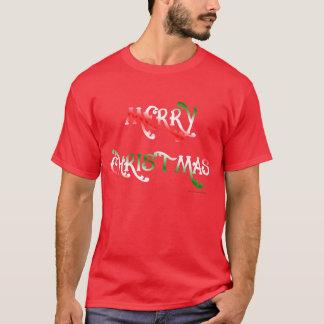 Joyeux Noël (canneberge) T-shirt