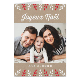 Joyeux Noël | Carte de Noël