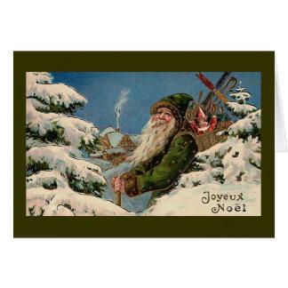 """""""Joyeux Noel"""" carte de Noël vintage """""""