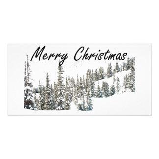 Joyeux Noël Modèle Pour Photocarte