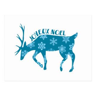 Joyeux Noel Carte Postale
