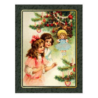 Joyeux Noël. Cartes postales vintages de Noël