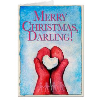 Joyeux Noël, chouchou ! Carte de Noël