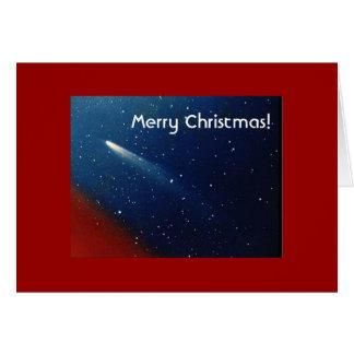 Joyeux Noël ! Comète Kohoutek Carte De Vœux
