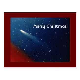 Joyeux Noël ! Comète Kohoutek Carte Postale