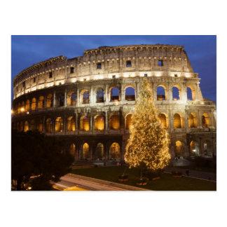 Joyeux Noël de carte postale de Rome